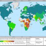 brennbare regenerative Energien Karte