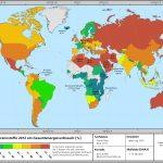 fossile Brennstoffe Karte