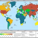 CO2-Emissionen Energienutzung Karte